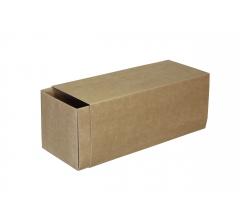 Коробка-пенал 200*80*80 мм, крафт