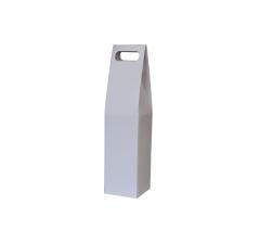 Коробка-переноска 90*90*380 мм, белая