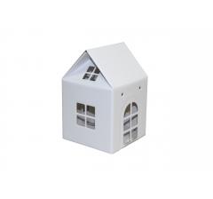 Коробка-домик 12*12*12 см (без крыши), белый