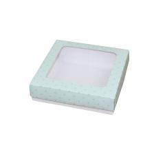 Коробка подарочная 150*150*40 мм, дизайн 15