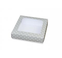 Коробка подарочная 150*150*40 мм, дизайн 22