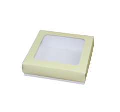 Коробка подарочная 150*150*40 мм, дизайн 23