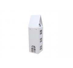 Коробка-домик 11*11*26 см (без крыши), белый