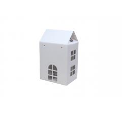 Коробка-домик 12*16*20 см (без крыши), белый