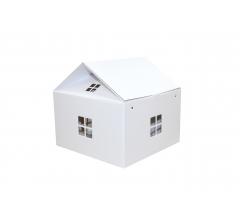 Коробка-домик 24,50*24,50*15 см (без крыши), белый