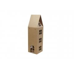 Коробка-домик 110*110*260 мм (без крыши), крафт