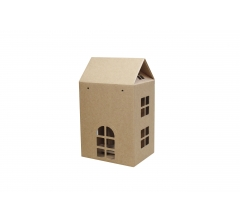Коробка-домик 120*160*200 мм (без крыши), крафт