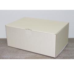 Коробка 28*19*12 см, бежевая