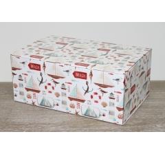 Коробка 28*19*12 см, дизайн 2020-12, полноцветная