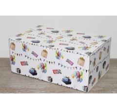 Коробка 28*19*12 см, дизайн 2020-2, полноцветная