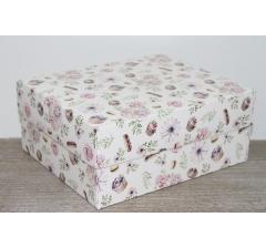 Коробка подарочная 280*230*120 мм, дизайн 2020-6, полноцветная