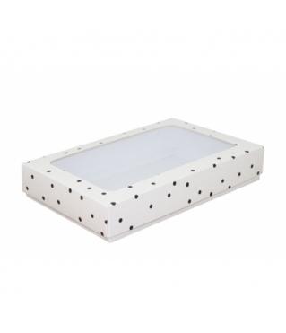 Коробка подарочная с окном 230*150*40, дизайн 2020-33