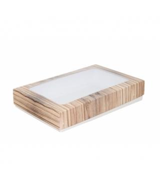 Коробка подарочная с окном 230*150*40, дизайн 2020-29