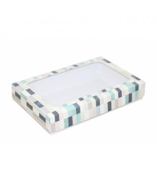 Коробка подарочная с окном 230*150*40, дизайн 2020-34