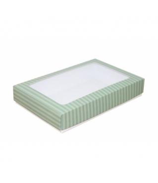 Коробка подарочная с окном 230*150*40, дизайн 2020-31