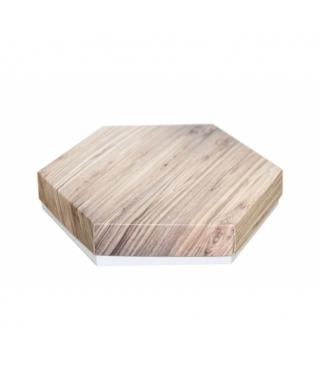 Коробка подарочная 200*200*40 мм, дизайн 2020-5, белое дно