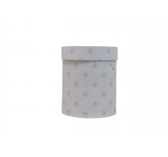 Коробка картонная круглая с рисунком 150*180 дизайн  88