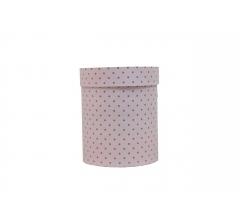 Коробка картонная круглая с рисунком 150*180 дизайн 92