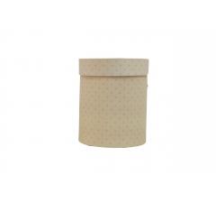 Коробка картонная круглая с рисунком 150*180 дизайн 121