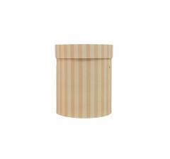 Коробка картонная круглая с рисунком 150*180 дизайн  122