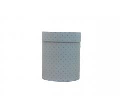 Коробка картонная круглая с рисунком 150*180 дизайн  133