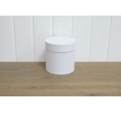 Коробка бархатная-люкс, d-110, h-120, белая
