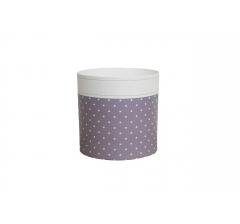Коробка круглая картонная (без крышки) 150*150 дизайн 113