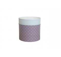 Коробка круглая картонная (без крышки) 150*150 дизайн 115