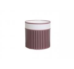 Коробка круглая картонная (без крышки) 150*150 дизайн 120