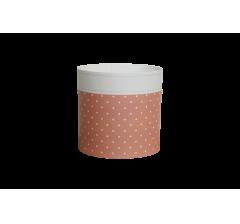 Коробка круглая картонная (без крышки) 150*150 дизайн 139