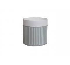 Коробка круглая картонная (без крышки) 150*150 дизайн 144