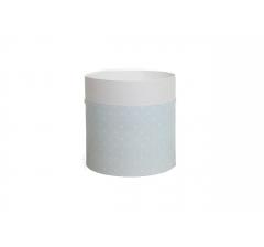 Коробка круглая картонная (без крышки) 150*150 дизайн 158