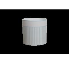 Коробка круглая картонная (без крышки) 150*150 дизайн 159