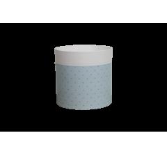 Коробка круглая картонная (без крышки) 150*150 дизайн 161