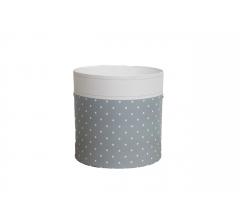 Коробка круглая картонная (без крышки) 150*150 дизайн 162