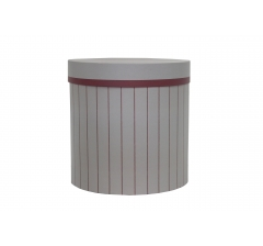 Коробка для цветов d-200, h-200, дизайн 83