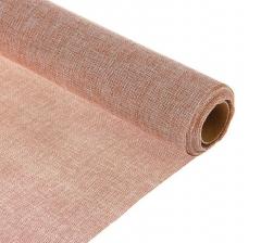 Джутовая ткань 50 см/ 4,5 м, бежевая