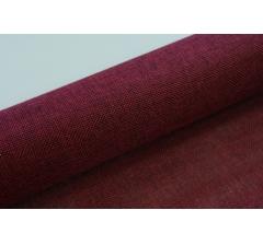 Джутовая ткань 50 см/ 4,5 м, бордовая