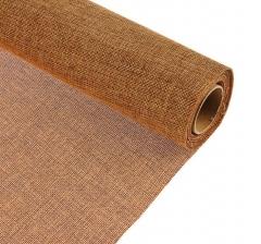 Джутовая ткань 50 см/ 4,5 м, коричневый