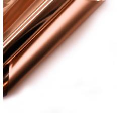"""Корейская пленка """"Зеркальная"""" 60 см/5 м, розовое золото"""