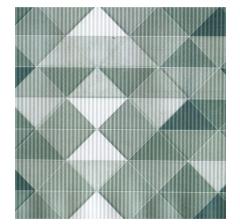 Бумага гофрированная 50 см/10 м, геометрия серая
