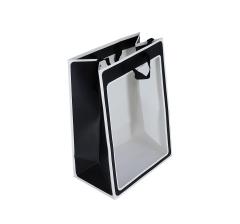 Пакет подарочный черно-белый 35cm/25cm/15cm 9T7150