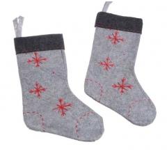 Набор из 2-ух носков рождественских