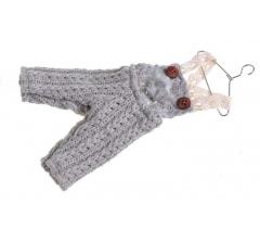 Елочная игрушка: штаны на вешалке 20*10 см