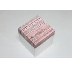 Коробка 110*110*110 мм НГ, белое дно,дизайн 3