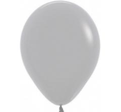 Шар (12''/30 см) Серый, пастель