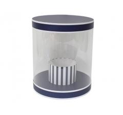 Коробка цилиндр, d-255, h-310, дизайн 11