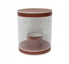 Коробка цилиндр, d-255, h-310, дизайн 16