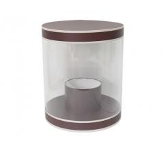 Коробка цилиндр, d-255, h-310, дизайн 23