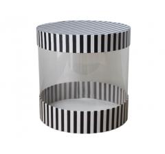 Коробка цилиндр, d-200, h-200 мм, дизайн 8